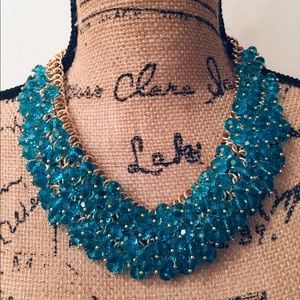 Jewelry - Bright Blue Beads Necklace
